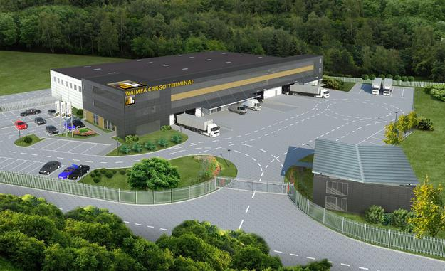 Terminal cargo otwarto na lotnisku w Jasionce k. Rzeszowa - GospodarkaMorska.pl