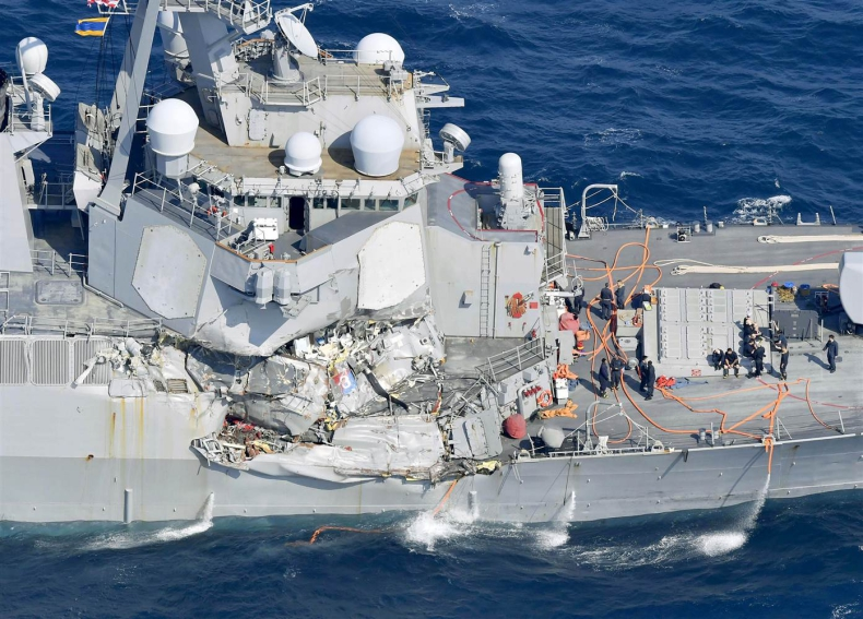 Odnaleziono ciała zaginionych marynarzy z USS Fitzgerald - GospodarkaMorska.pl