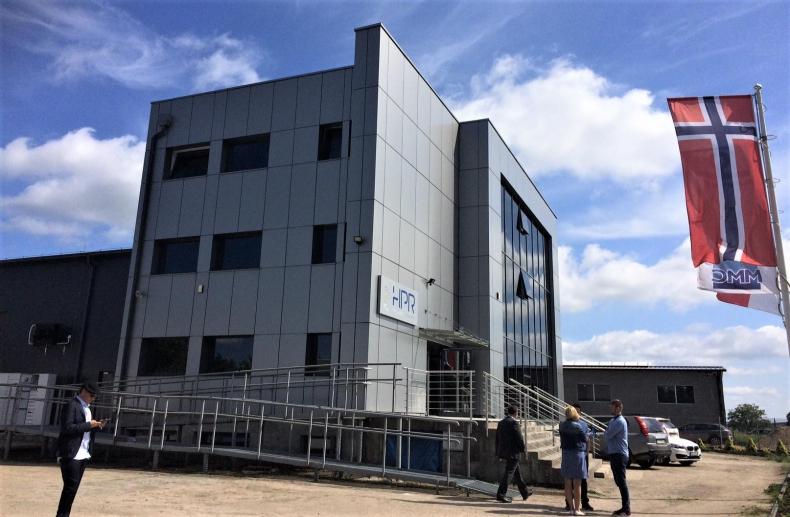 Nowa siedziba HPR-Havyard Production sp. z o.o. już otwarta - GospodarkaMorska.pl