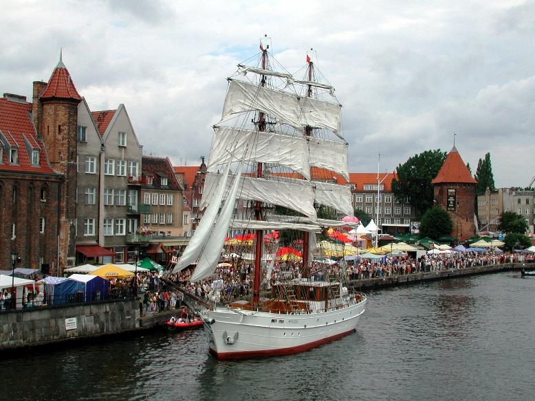 21 żaglowców na 21 lat Baltic Sail Gdańsk - GospodarkaMorska.pl