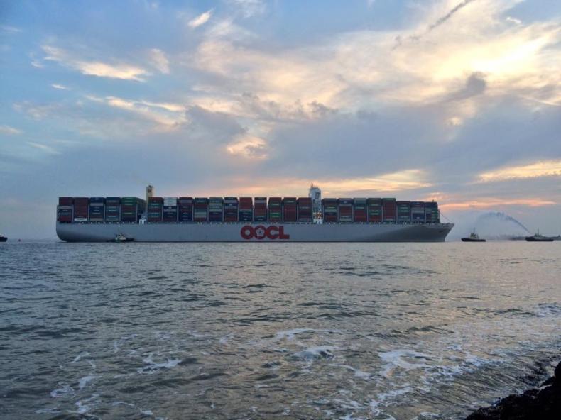 Do Gdańska w środę przypłynie największy kontenerowiec świata - GospodarkaMorska.pl