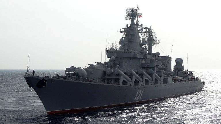 Resort obrony: ostrzał obiektów IS w Syrii z rosyjskich okrętów - GospodarkaMorska.pl