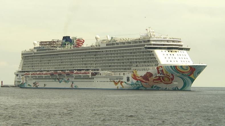 Norwegian Getaway, najdłuższy wycieczkowiec w historii polskich portów, odwiedził Gdynię. Byliśmy na pokładzie (foto, wideo) - GospodarkaMorska.pl