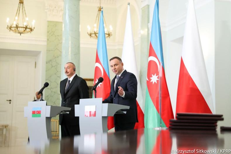 Prezydent: Potencjał gospodarczy Polski i Azerbejdżanu jest bardzo duży - GospodarkaMorska.pl