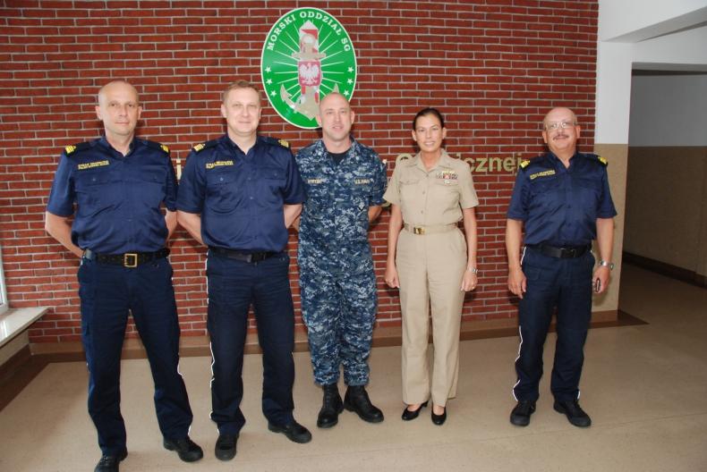Attaché Morski USA z wizytą w MOSG - GospodarkaMorska.pl