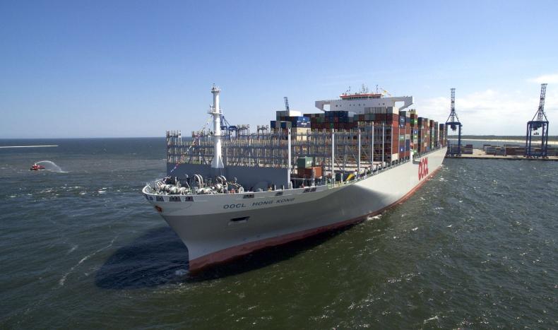 Do Gdańska zawinął największy kontenerowiec świata. Byliśmy na pokładzie (foto, wideo) - GospodarkaMorska.pl