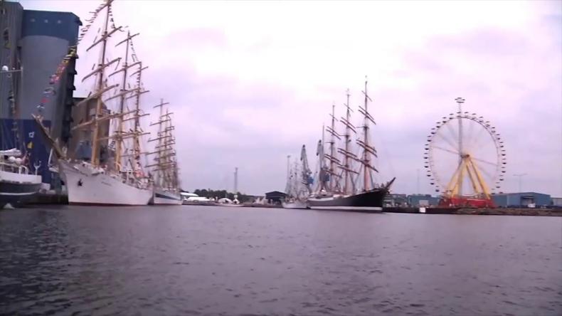 Otwarcie regat The Tall Ships Races w Halmstad - GospodarkaMorska.pl