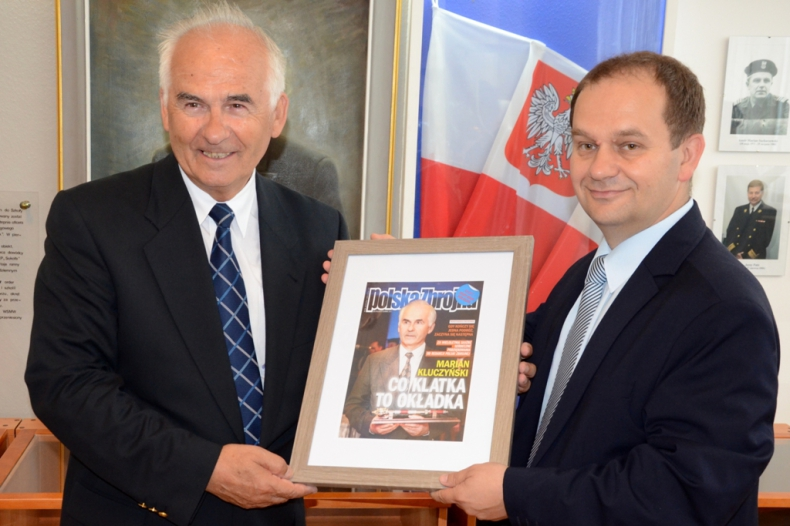 Marian Kluczyński zakończył pracę zawodową w MW - GospodarkaMorska.pl