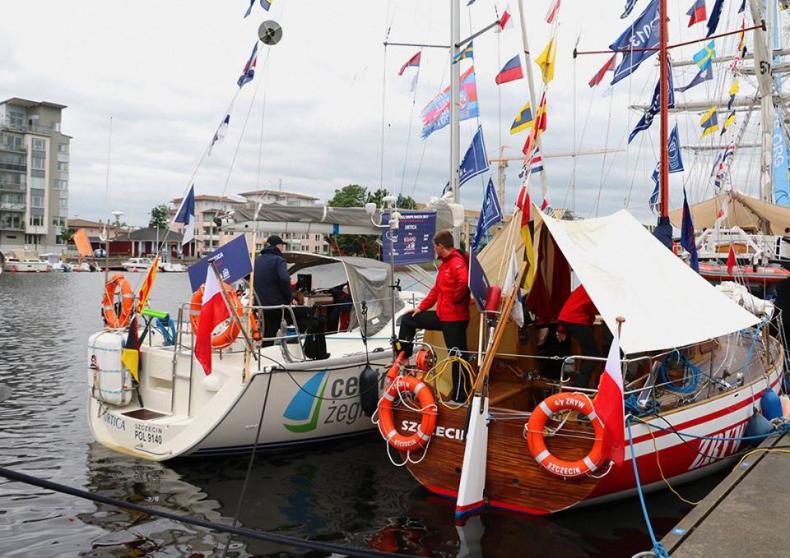 Szwecja: Polska reprezentacja na otwarciu regat The Tall Ships Races w Halmstad - GospodarkaMorska.pl