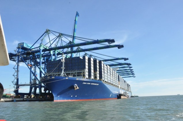 CMA CGM i COSCO wzmocniły partnerstwo swoich operatorów portowych - GospodarkaMorska.pl