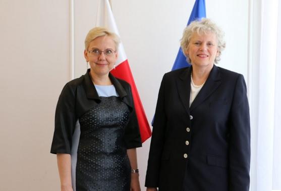 Ambasador Królestwa Szwecji z wizytą w MGMiŻŚ - GospodarkaMorska.pl