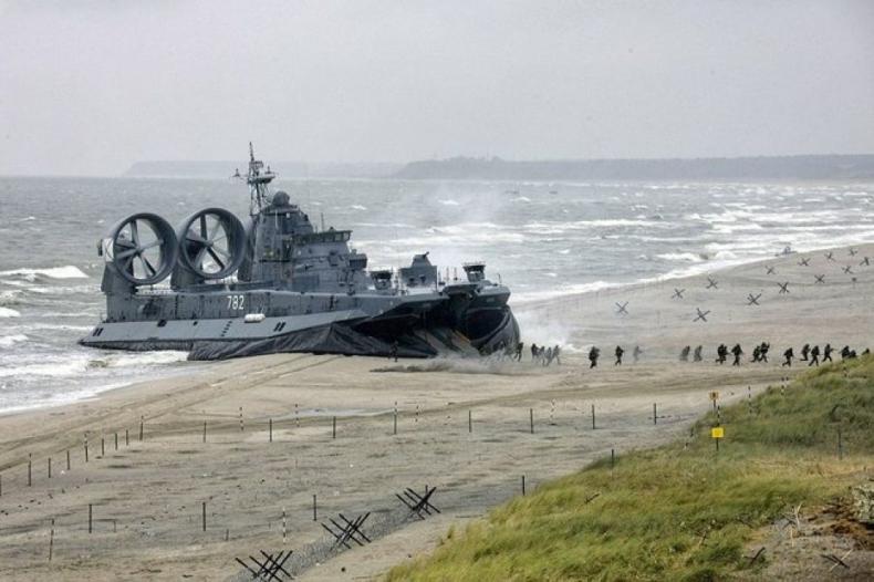 Ćwiczenia Floty Bałtyckiej w rejonie obwodu kaliningradzkiego - GospodarkaMorska.pl