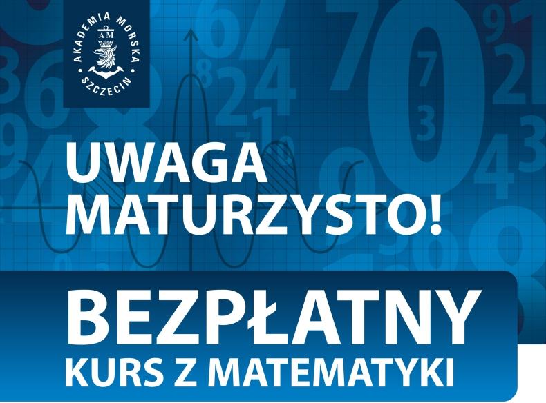 Pitagoras 2017 – bezpłatny kurs przed poprawką z matematyki w Akademii Morskiej w Szczecinie - GospodarkaMorska.pl