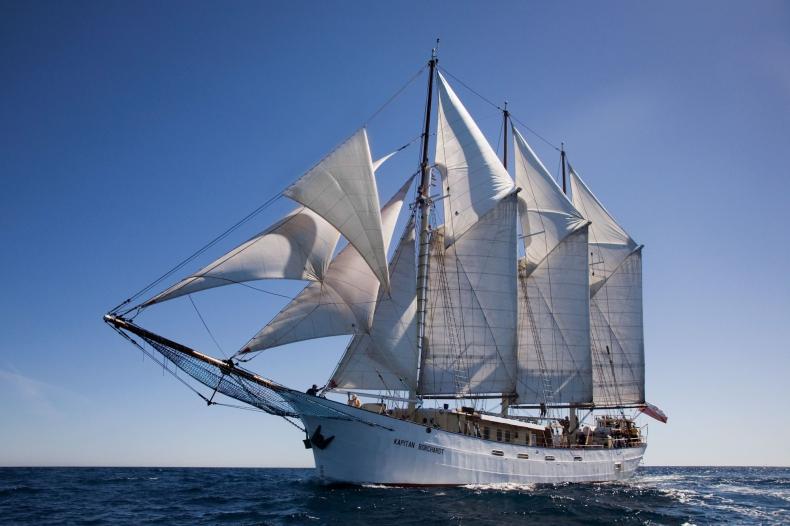 Polski jacht na czele The Tall Ships Races - GospodarkaMorska.pl