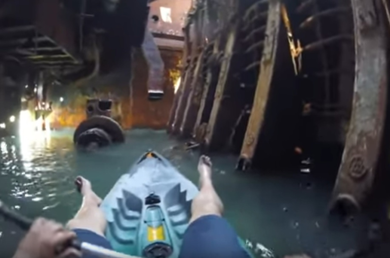 Statku z takiej perspektywy jeszcze nie oglądaliście (wideo) - GospodarkaMorska.pl