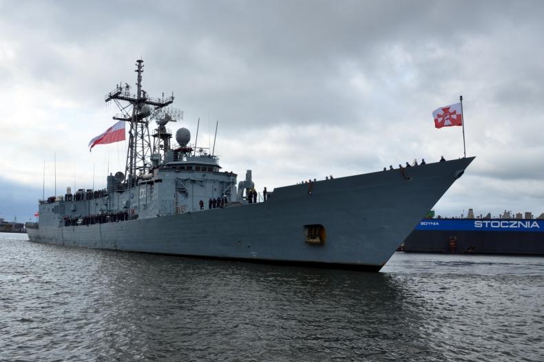 ORP Kościuszko powrócił z manewrów NATO - GospodarkaMorska.pl