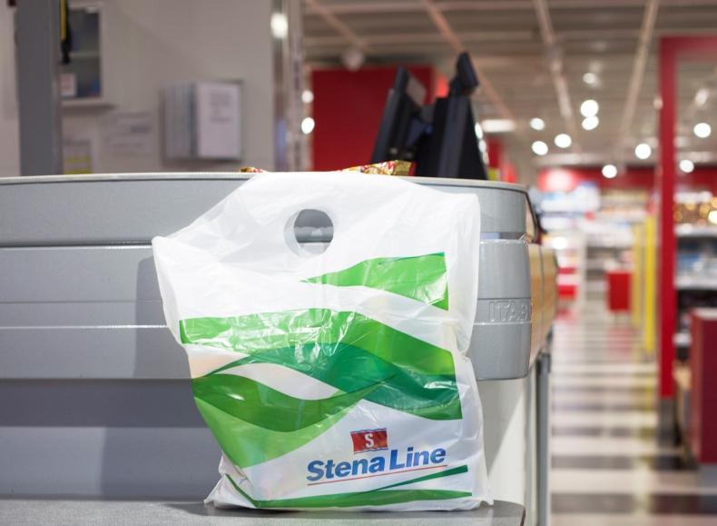 Stena Line wprowadza biodegradowalne torby na pokładach wszystkich statków - GospodarkaMorska.pl