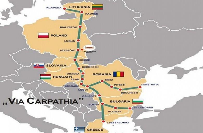 Białystok: Litwa popiera budowę trasy Via Carpatia w Polsce - GospodarkaMorska.pl
