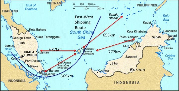 Indonezja zmienia nazwę części Morza Południowochińskiego - GospodarkaMorska.pl