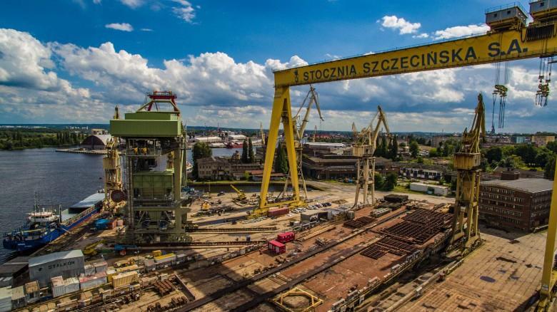 Pociągi wracają do szczecińskiej stoczni - GospodarkaMorska.pl