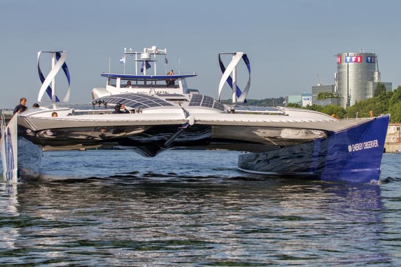 Samowystarczalna energetycznie łódź wodorowa w rejsie dookoła świata - GospodarkaMorska.pl