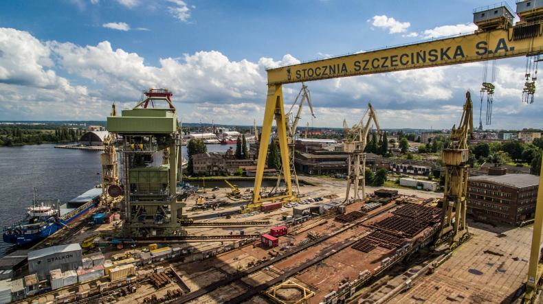10 cudów polskiej gospodarki morskiej: Pochylnia Wulkan (foto, wideo) - GospodarkaMorska.pl