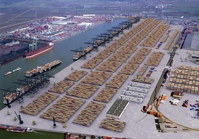 Dobre wyniki portu w Antwerpii - GospodarkaMorska.pl