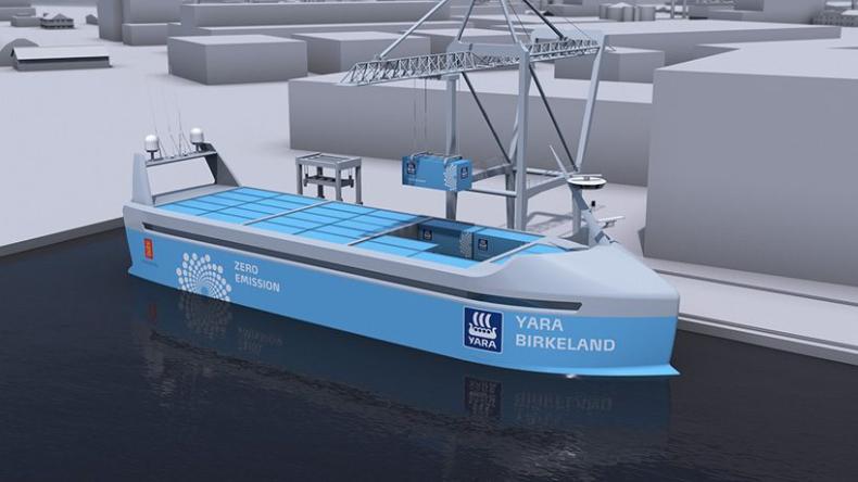 Pierwszy bezzałogowy statek pojawi się już... w przyszłym roku - GospodarkaMorska.pl