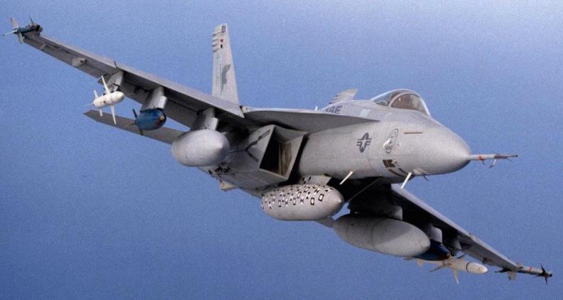 Finlandia: Hiszpańskie F-18 mogły naruszyć przestrzeń nad Zatoką Fińską - GospodarkaMorska.pl