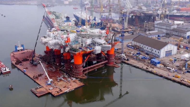 DNV GL przeprowadziła pierwszą inspekcję offshore na platformie przebudowanej w Polsce (wideo) - GospodarkaMorska.pl