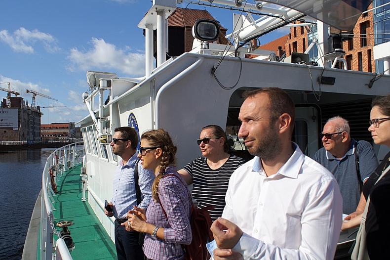 Wizyta przedstawicieli Ministerstwa Rozwoju Rumuni w Urzędzie Morskim w Gdyni - GospodarkaMorska.pl