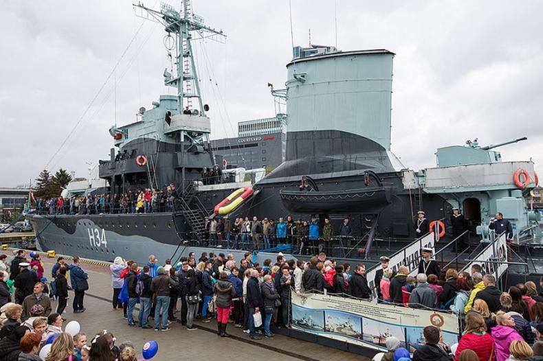 Dzień otwarty w Muzeum Marynarki Wojennej w Gdyni - GospodarkaMorska.pl