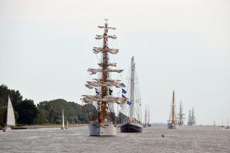 Zachodniopomorskie: Parada żaglowców na Bałtyku na zakończenie regat The Tall Ships Races - GospodarkaMorska.pl