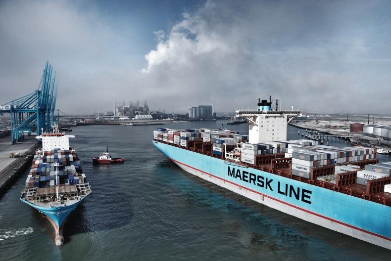 Maersk z dobrymi wynikami, mimo ataku hakerskiego - GospodarkaMorska.pl