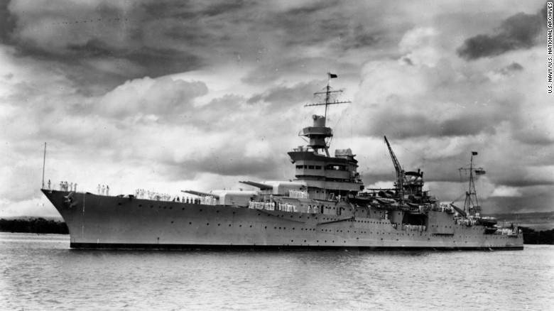 Na Pacyfiku zlokalizowano wrak okrętu Indianapolis - GospodarkaMorska.pl
