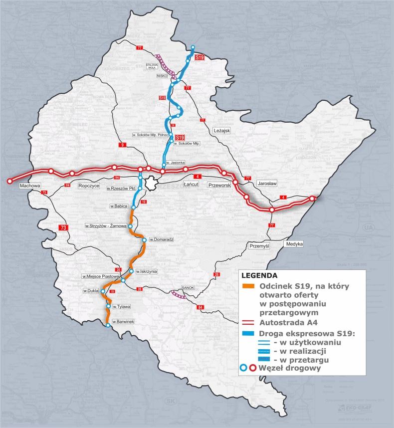 Podkarpackie: Przesunięto kolejny termin w przetargu na budowę S19 - GospodarkaMorska.pl