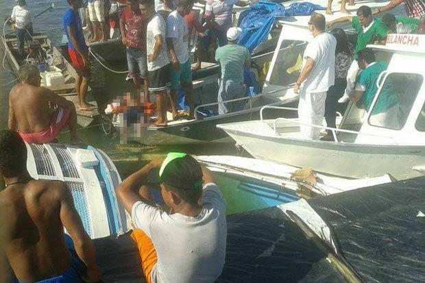 Brazylia: Na rzece zatonął statek, co najmniej siedem ofiar śmiertelnych (wideo) - GospodarkaMorska.pl