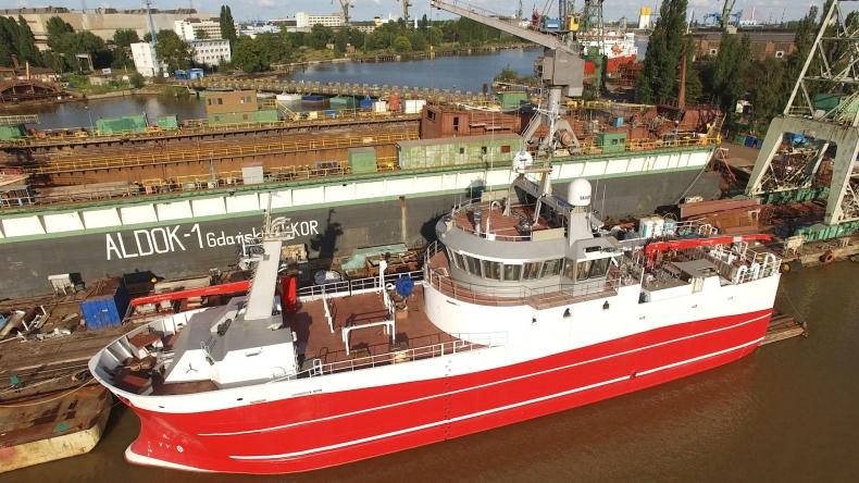 W stoczni ALKOR trwa przebudowa nietypowej jednostki dla islandzkiego armatora. Byliśmy na pokładzie (foto, wideo) - GospodarkaMorska.pl