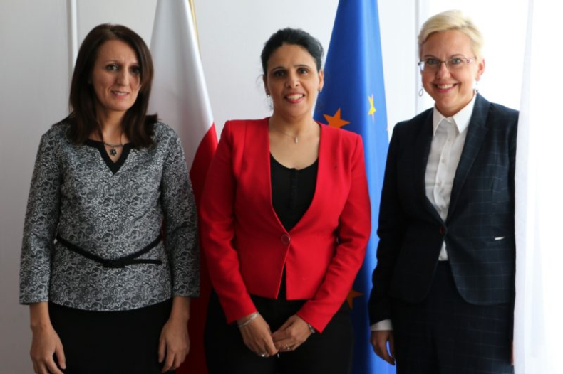 Wizyta chargé d'affaires Ambasady Algierii w MGMiŻŚ - GospodarkaMorska.pl