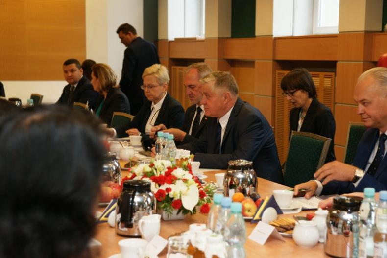 Spotkanie w MGMiŻŚ z ministrem ds. rolnictwa Chińskiej Republiki Ludowej - GospodarkaMorska.pl