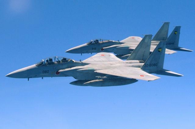 Japońskie F-15 dołączyły do ćwiczeń w pobliżu Półwyspu Koreańskiego - GospodarkaMorska.pl