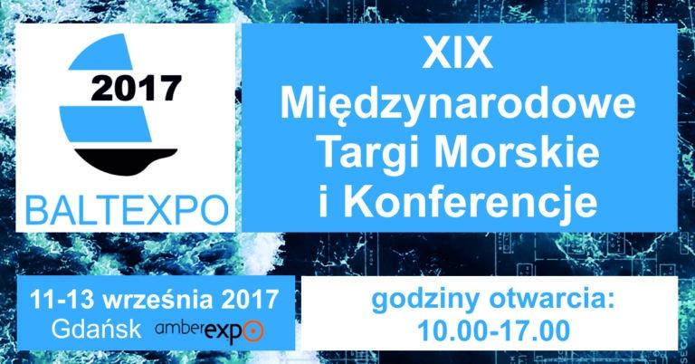 Resort gospodarki morskiej na BALTEXPO 2017 - GospodarkaMorska.pl