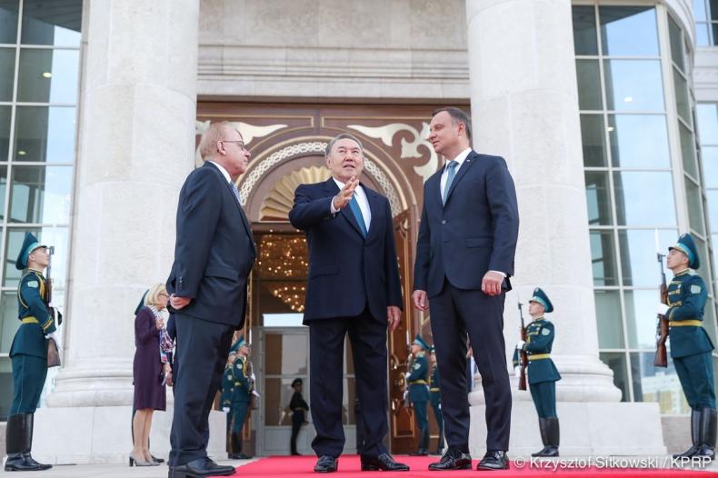 Nazarbajew: Interesujące perspektywy współpracy z Polską - GospodarkaMorska.pl