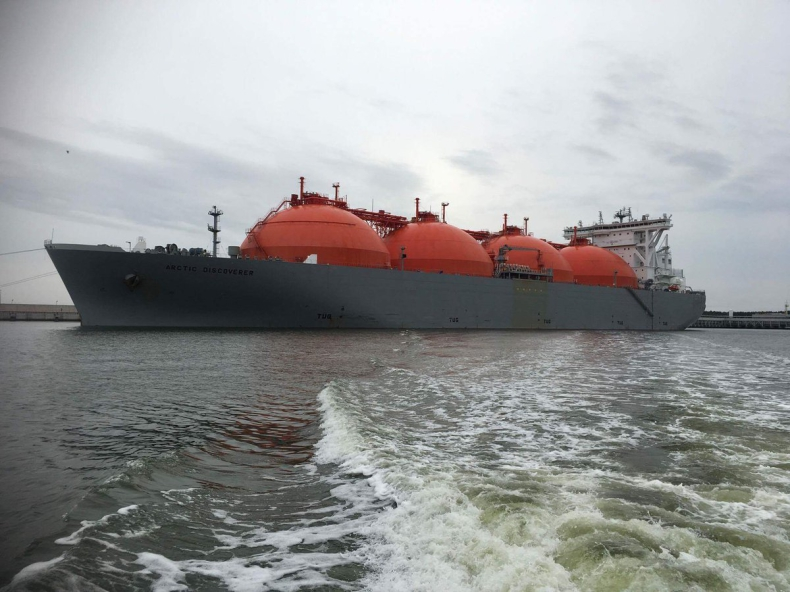 Dwudziesta dostawa LNG do terminala w Świnoujściu (wideo) - GospodarkaMorska.pl