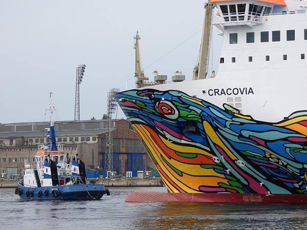 Zakończył się remont nowego promu PŻB. Cracovia za kilka dni wyruszy w pierwszy rejs do Szwecji (wideo) - GospodarkaMorska.pl