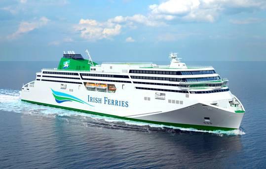 Irish Ferries ogłasza konkurs na nazwę swojego nowego promu - GospodarkaMorska.pl