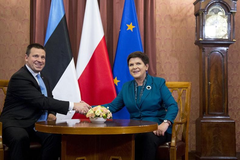 Premier Estonii: Nie będziemy w stanie korzystać z owoców współpracy europejskiej bez solidarności - GospodarkaMorska.pl