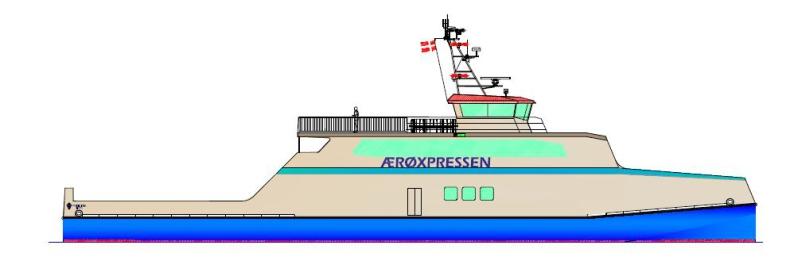 ÆrøXpressen coraz bliżej uruchomienia nowego połączenia. Firma zamówi nowy prom - GospodarkaMorska.pl