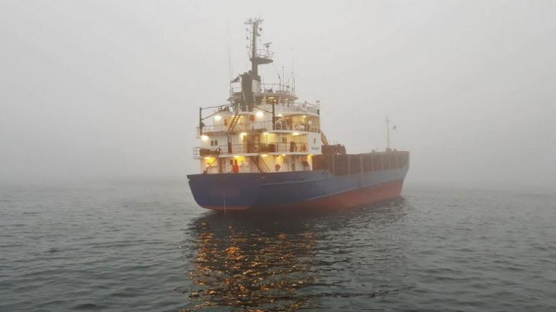 Masowiec utknął na mieliźnie przy wybrzeżu Szwecji (foto) - GospodarkaMorska.pl