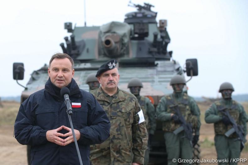Duda: Jesteśmy przygotowani do obrony państw NATO - GospodarkaMorska.pl